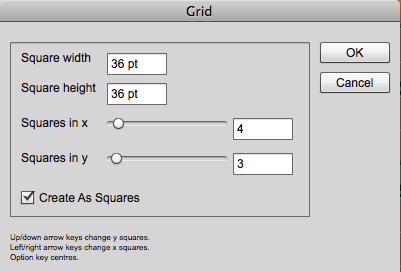 Grid tool interface
